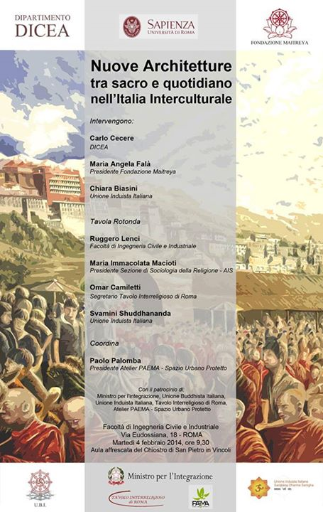 Nuove Architetture tra sacro e quotidiano nell'Italia Interculturale