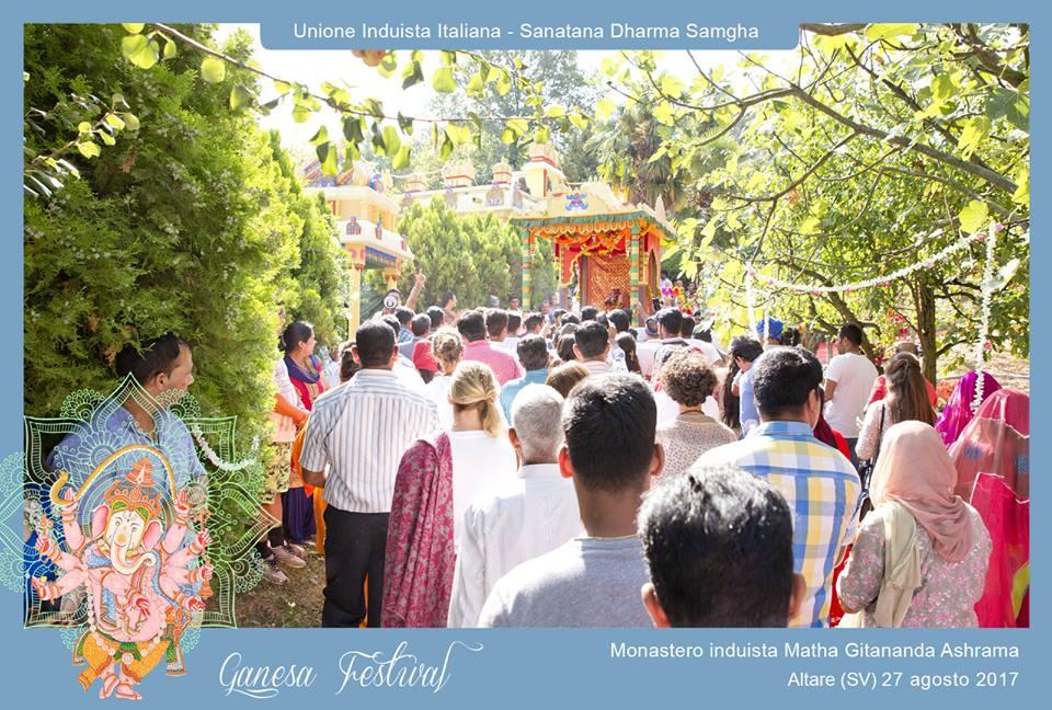 Reportage del Ganesha Festival 2017