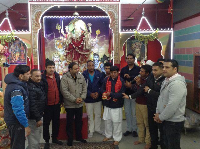 Tempio Jai Jagadambe Maa Durga shakti Mandir - 23 marzo 2014 Treviso (2)