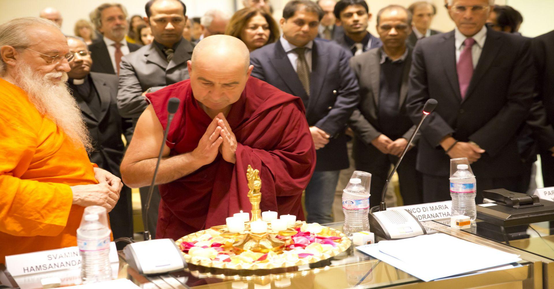 Raffaello Longo, Presidente Emerito Unione Buddhista Italiana