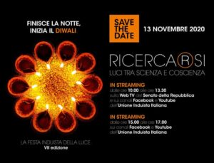 Finisce la notte, inizia il Diwali. RIVEDI GLI EVENTI ON LINE
