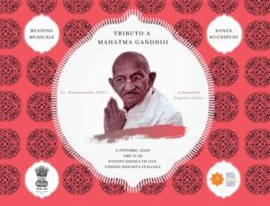 Tributo a Mahatma Gandhiji