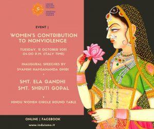 Il contributo delle donne alla non violenza